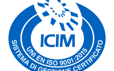 New Certification UNI EN ISO 9001:2015